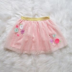 NWT Girls' Size 3T Pink Tulle Skirt